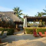 Restaurant and Yoga Pavilion