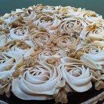 Homemade Coffee & Walnut Cake