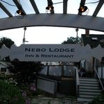 Restaurant entrance at Nebo Lodge