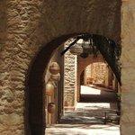 a quiet alleyway