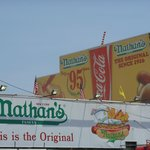 The famous Nathan's
