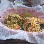 blackened fish tacos (minus the cabbage)