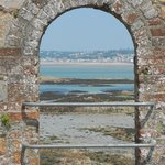 Looking through to St Aubin's Bay