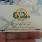 tarjeta chicote