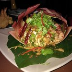 Prawns in Banana blossom