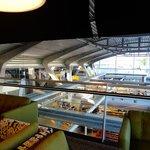 Sala do hote e gare do aeroporto
