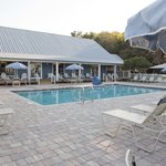 Clear sparkling pool available for our guests year round
