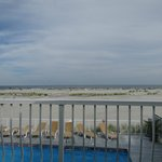 View from balcony - Room 214 Oceanfront July 2013
