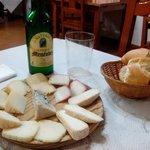 dessgustacion de quesos asturianos en Casa Esther!