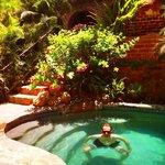 Poolside at the Todos Santos Inn