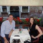 At Da Fiore restaurant in Venice