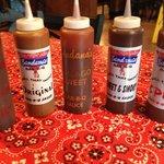 Barbecue Sauces @ Bandana's