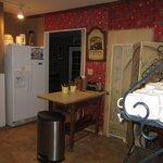 cozy kitchen for breakfast