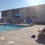 piscine du motel 6