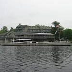 Main building from kayak