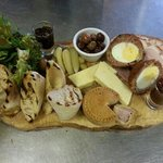 my friends amazing ploughman's platter