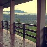 Volcan Sangay visto desde la habitaciones