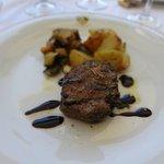 beef tenderloin with balsamic reduction