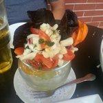 yummy seafood ceviche