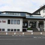 Hotel Ork, front entrance