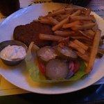 Garbanzo burger (no bun)