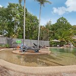 The Lychee Tree's family friendly swimming pool