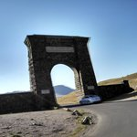 North Gate of  Yellowstone, less than 5 minutes away