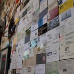 The Wall of Business Cards