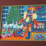 artwork which inspired the design on the 'Nutcracker Sweet' Holiday tea
