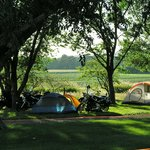 Nice tent sites