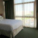 Windows near beds