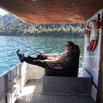 Fishing off the MV Waiora