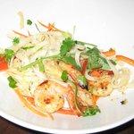 Shrimp Stir Fry - one picks, vegi, meat, sauce & heat temp