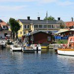 Sandhamn on a beautiful day in July