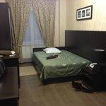 My room, big enough, clean enough