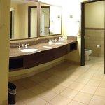 Vanity Area very large
