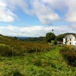 Derylahan Hostel & the view over the ocean