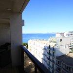 La Mer depuis la Terrase d'un appartement 2 pièces