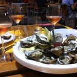 Quelques huîtres pour commencer un bon repas!