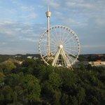 Pariserhjulet, utsikt från rummet