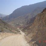 Approaching Wadi Arbeieen from Mazara'