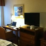 Working area in room