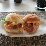 Breakfast (Bacon rolls)