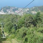 On the 'Funivie del Lago Maggiore' (cable car to the top of 'Sasso del Ferro')