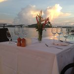 Sunset Dinner at Busuanga Bay Lodge