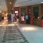 The lobby/reception area on ground floor.