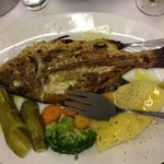 red snapper - the best fish i eat in paros