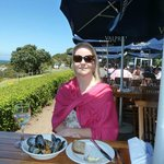 Lunch at the Black Marlin - Nov vacation
