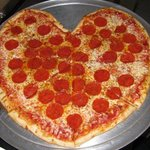 We love Pizza. Happy Valentines Day
