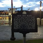High Red Bluff Historical Marker